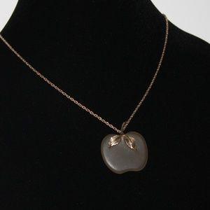 AVON Apple gold tone necklace Vintage